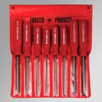 Forster Gunsmith Screwdriver Set assortment of 8, sizes 1, 2, 3, 4, 5, 14, 15, & 16 1201