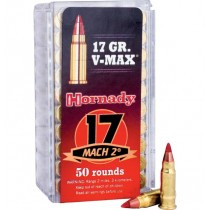 Hornady Ammunition 17 MACH2 17 Grn V-MAX (50 Pack) (HORN-83177)