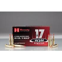 Hornady Ammunition 17 WSM 20 Grn V-MAX (50 Pack) (HORN-83180)