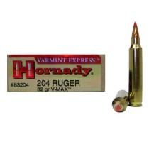 Hornady Ammunition SPF Varmint 204 RUG 32Grn V-MAX (20 Pack) HORN-83204