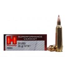 Hornady Ammunition 22-250 35Grn NTX SPF HORN-8334