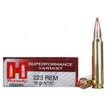 Hornady Ammunition 223 REM 35Grn NTX SPF HORN-83266