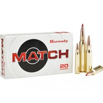 Hornady Ammunition 308 WIN 155 Grn ELD MATCH (20 Pack) (HORN-80956)