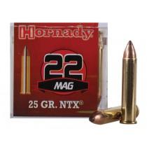Hornady Ammunition 22 WMR 25 Grn NTX (50 Pack) (HORN-83201)