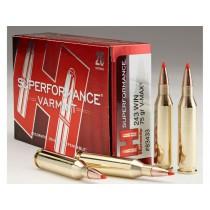 Hornady Ammunition 243 WIN 75Grn V-MAX SPF HORN-83433