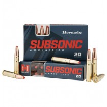 Hornady Ammunition 300 AAC BLACK 190 Grn SUB-X (20 Pack) (HORN-80877)