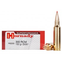 Hornady Ammunition 300 RCM 150 Grn GMX SPF (20 Pack) (HORN-82230)