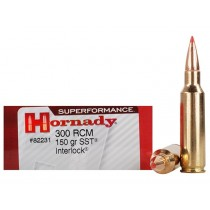 Hornady Ammunition 300 RCM 150 Grn SST SPF (20 Pack) (HORN-82231)