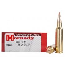 Hornady Ammunition 300 RCM 165 Grn GMX SPF (20 Pack) (HORN-82229)