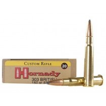Hornady Ammunition 303 BRITISH 150Grn SP (HORN-8225)
