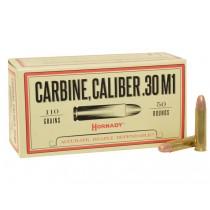 Hornady Ammunition 30 CARBINE 110Grn FMJ 50 (HORN-8102)