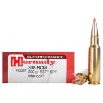 Hornady Ammunition 338 RCM 200 Grn SST SPF (20 Pack) (HORN-82237)