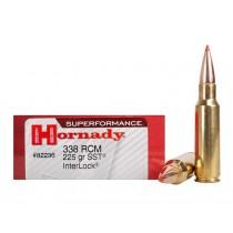 Hornady Ammunition 338 RCM 225 Grn SST SPF (20 Pack) (HORN-82236)