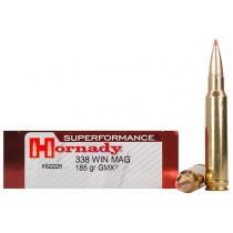 Hornady Ammunition 338 WIN MAG 185Grn GMX SPF HORN-82226