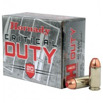Hornady Ammunition 40 S&W 175Grn FLEXLOCK DUTY HORN-91376