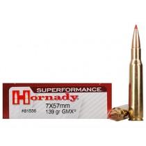 Hornady Ammunition 7X57 MAUSER 139 Grn GMX SPF (20 Pack) (HORN-81556)