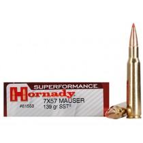Hornady Ammunition 7X57 MAUSER 139Grn SST SPF HORN-81553