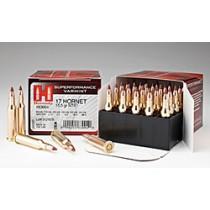 Hornady Ammunition SPF Varmint 17 HORNET 15.5Grn NTX (20 Pack) HORN-83004