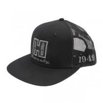 Hornady BLACK MESH FLAT BILL SNAPBACK CAP (HORN-99230)