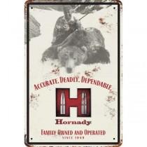 Hornady JOYCE Hornady TIN SIGN (HORN-99112)