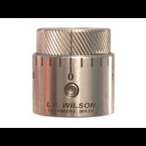 L.E Wilson Bullet Seater Cap Micrometer Adjust Stainless (LWSBSCMIC)
