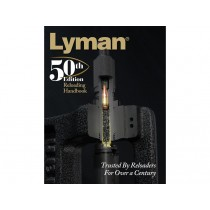Lyman 50th Edition Reloading Handbook - Paperback LY9816051