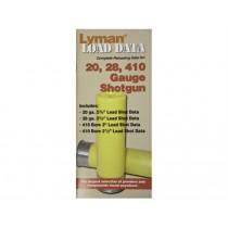 Lyman Load Data Book 20 / 28 / 410 Gauge LY9780002