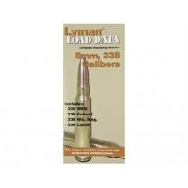 Lyman Load Data Book 338 / 8mm Calibres LY9780018