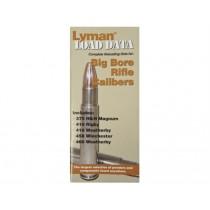 Lyman Load Data Book Big Bore Rifle Calibres LY9780022