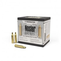 Nosler Custom Rifle Brass 17 REM FB (100 Pack) (NSL10178)