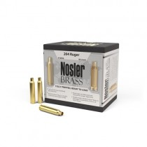 Nosler Custom Rifle Brass 204 RUGER (50 Pack) (NSL10056)