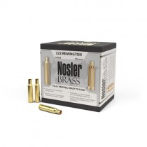 Nosler Custom Rifle Brass 222 REM 100 Pack NSL10058