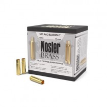 Nosler Custom Rifle Brass 300 AAC BLACK (50 Pack) (NSL45123)