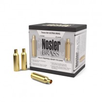 Nosler Custom Rifle Brass 7mm REM SAUM (25 Pack) (NSL10184)