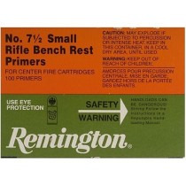 Remington Small Rifle Bench Rest Primers No 7 1/2 (100 PACK) REM-71/2