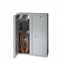 The Brattonsound Atlas AR20 gun safe will hold up to 20 rifles (with scopes) and comes with 2x 203mm internal locking tops