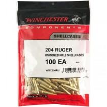 Winchester Brass 204 RUGER (100 Pack) (WINU204)