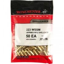 Winchester Brass 223 WSSM (50 Pack) (WINU223SS)