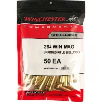Winchester Brass 264 WIN (50 Pack) (WINU264)