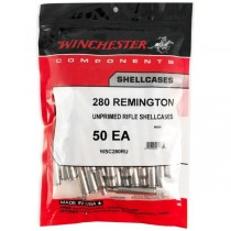 Winchester Brass 280 REM NICKEL (50 Pack) (WINU280)