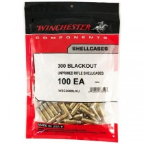 Winchester Brass 300 AAC BLACKOUT (50 Pack) (WINU300BLK)