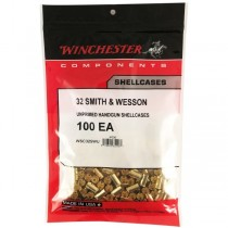 Winchester Brass 32 S&W (100 Pack) (WINU32SW)