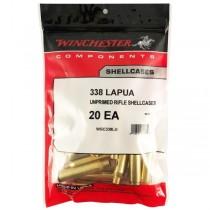 Winchester Brass 338 LAPUA (20 Pack) (WINU338L)