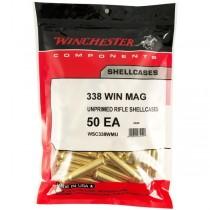 Winchester Brass 338 WIN MAG (50 Pack) (WINU338)