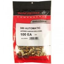 Winchester Brass 380 AUTO (100 Pack) (WINU380)