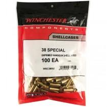 Winchester Brass 38 SPL (100 Pack) (WINU38SPL)