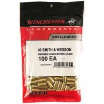Winchester Brass 40 S&W (100 Pack) (WINU40SW)