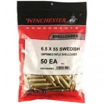 Winchester Brass 6.5x55 SE (50 Pack) (WINU65X55)