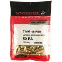 Winchester Brass 7MM-08 REM (50 Pack) (WINU708)