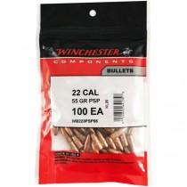 Winchester Bullet 22 CAL 55Grn PSP (.224) w/CANN (100 Pack) (WINB223PSP55)